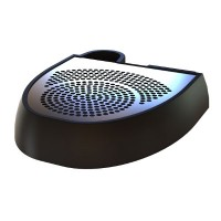 Eclipse Black Plastic moulded Drip Tray