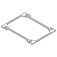 Body lid gasket (for Eclipse 2W3 and 3W5 boiler)