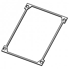 Body lid gasket (NB5BLG) Compact 3L & Clipper 5L