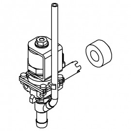 Muller Dispense valve and grommet