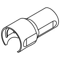 Grey tap body heat shield